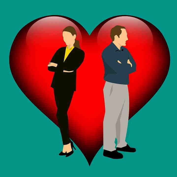 Soñar con divorcio o separación